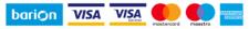 A szolgáltatást nyújtó Barion Payment Zrt a Magyar Nemzeti Bank felügyelete alatt álló e-pénz kibocsátó, engedélyének száma: H-EN-I-1064/2013.
